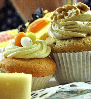 impressie tea cupcakes