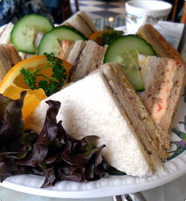 impressie tea sandwiches