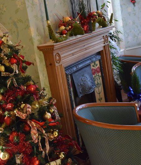 Interieur Kerst Openhaard
