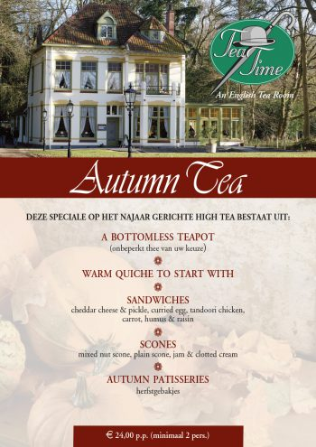 Tea Time Autumn Tea 2019