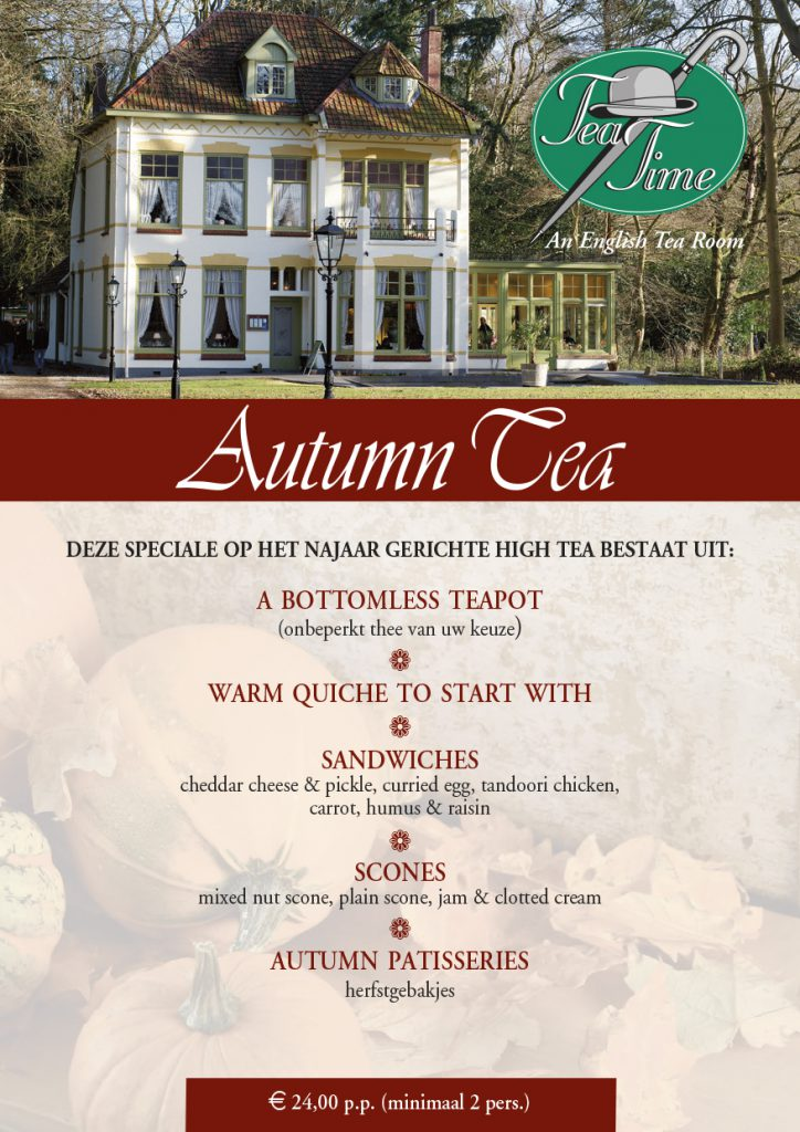 Tea Time Autumn Tea 2019