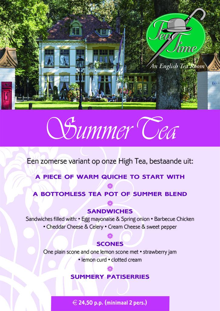 Summer Tea 2020 Tea Time